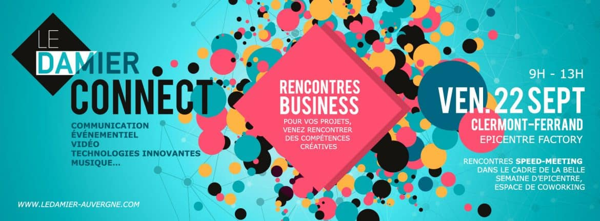 Damier Connect - Rencontres business - 22 septembre 2017