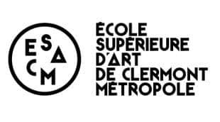 logo Ecole Supérieure d'Art de Clermont Métropole (ESACM)