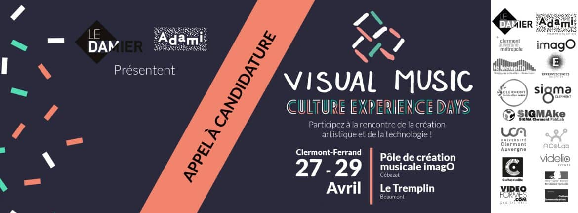 VISUAL MUSIC ouverture candidatures