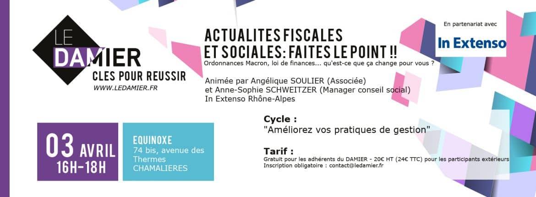 CLÉS POUR RÉUSSIR actualités fiscales et sociales