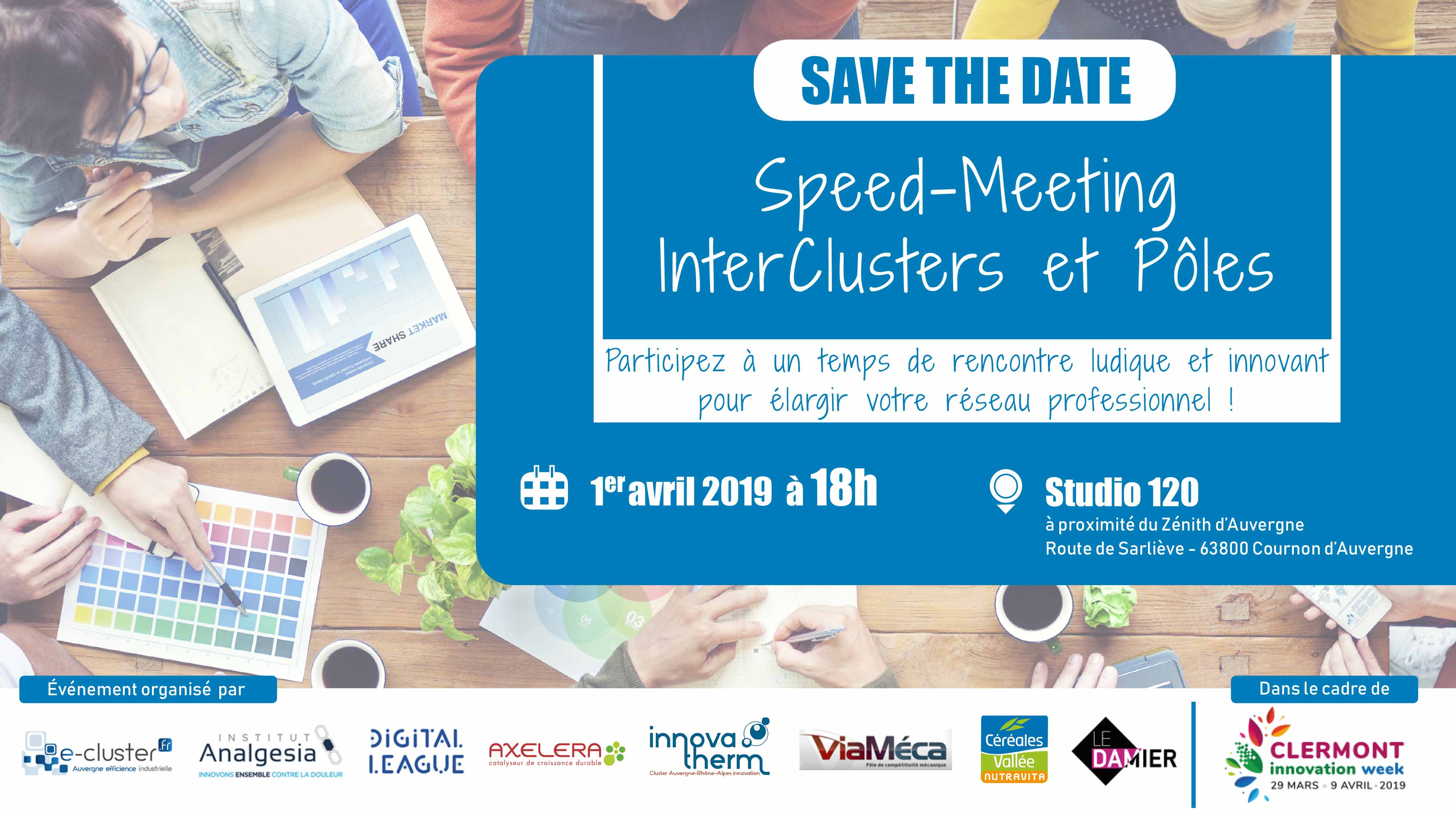 Speed Meeting intercluster et pôles