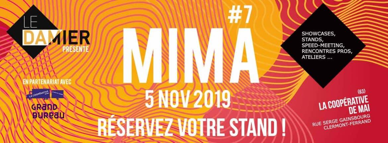 MIMA réservez votre stand